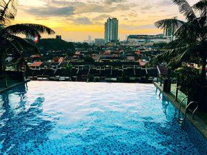 Swimmingpool in Kuala Lumpur