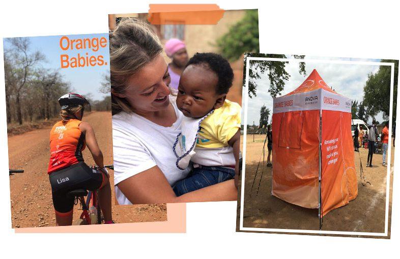 Orange Babies, creative in beating hiv