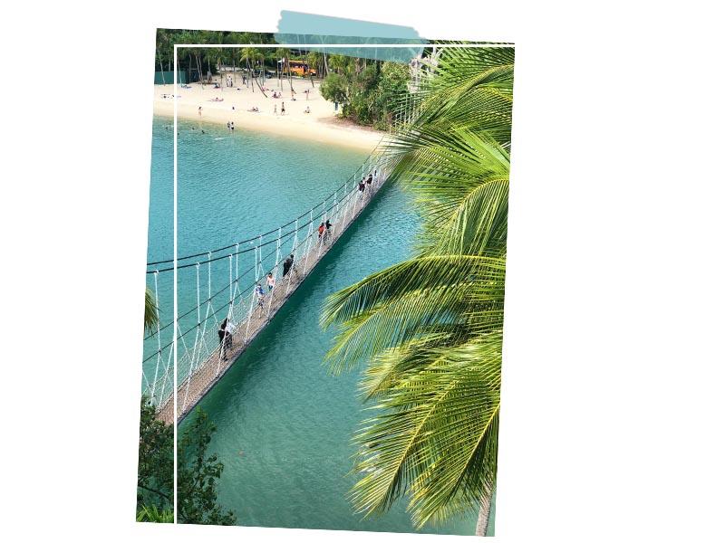 Island sentosa Singapore