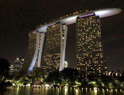 Op 'zakenreis' naar Singapore