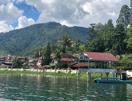 The end of the mini-holiday at Lake Toba