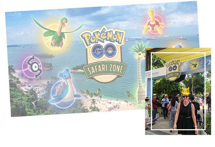 Pokemon GO Safari Sentosa