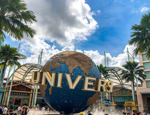 A day at Universal Studios in Singapore