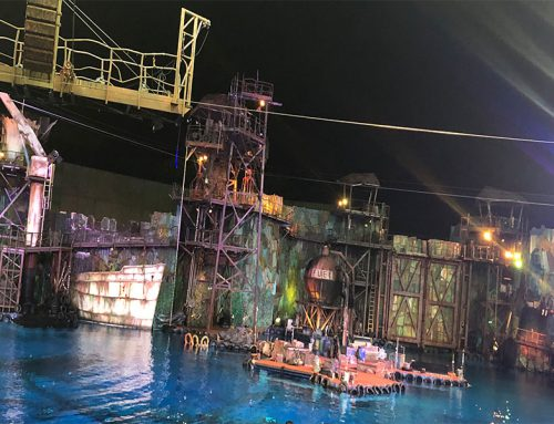 Waterworld show in Universal Studios Singapore