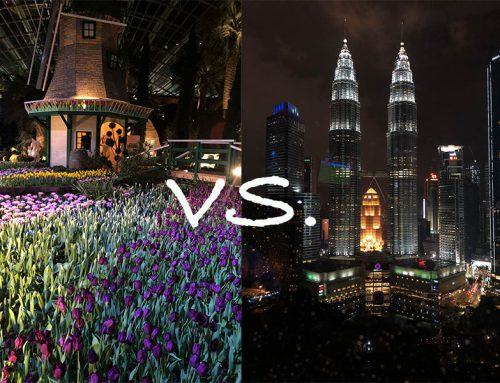 The differences between the Netherlands and Kuala Lumpur: Malaysian habits