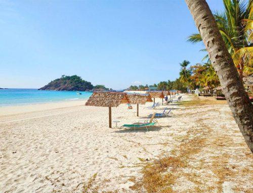Op zomervakantie naar het eiland Redang
