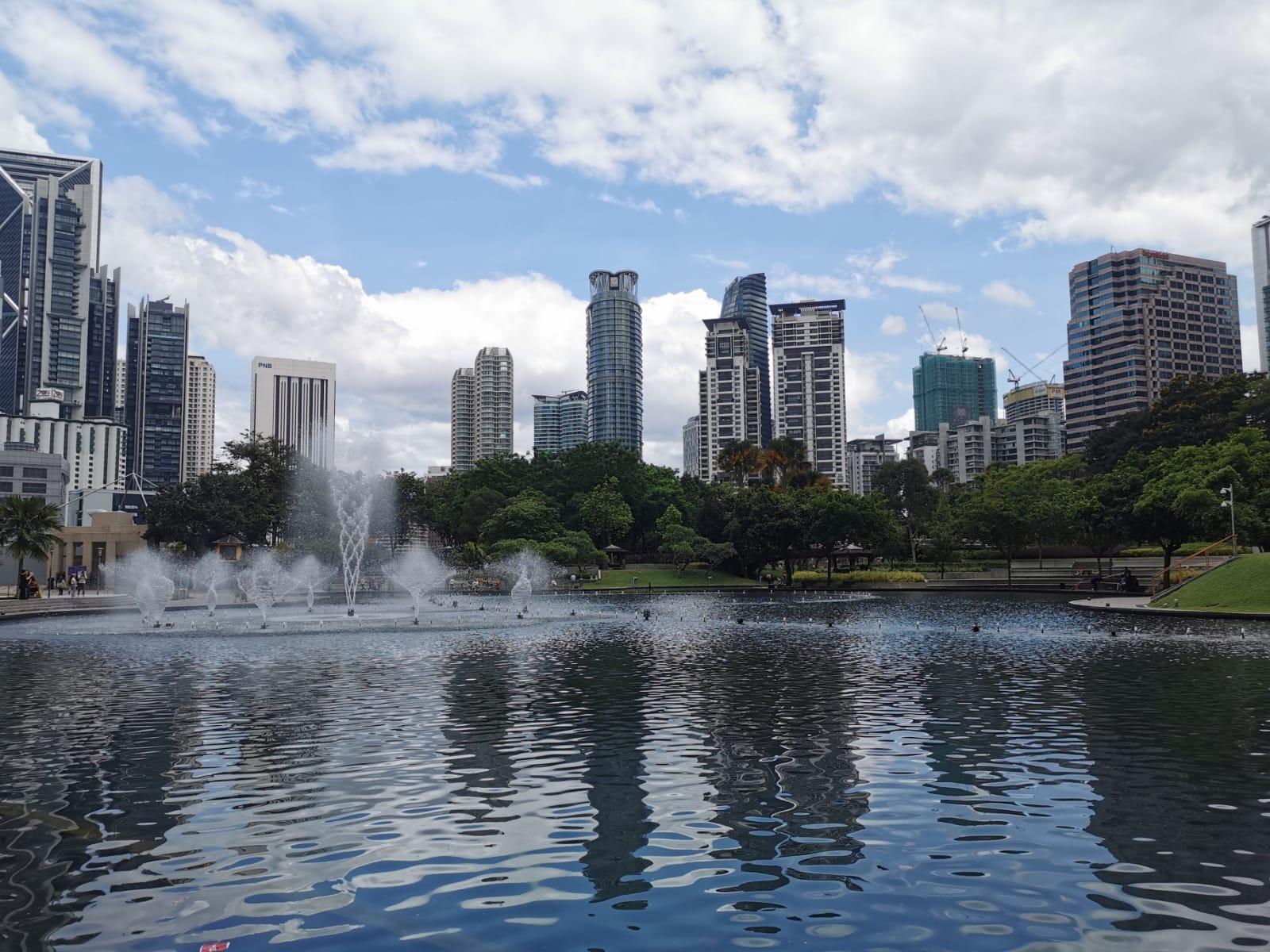 Malaysia KLCC Kuala Lumpur park