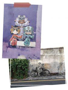 Penang Street art in Georgetown