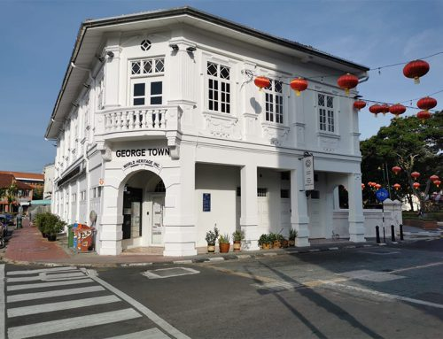 Georgetown, the cute center of Penang