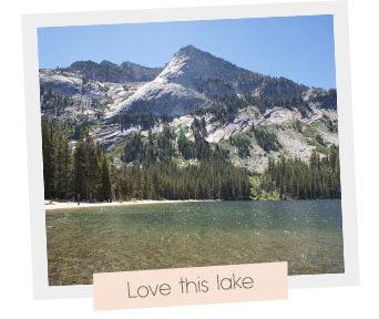 Yosemite park lake