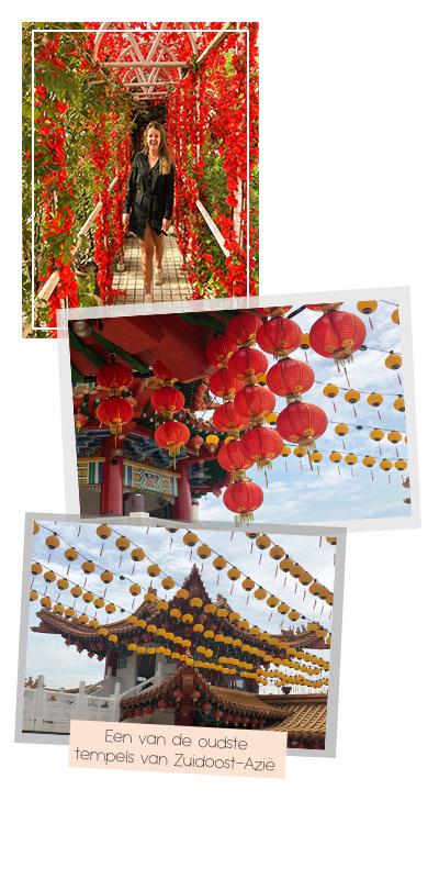 Foto's van de Thean Hou Tempel in Kuala Lumpur