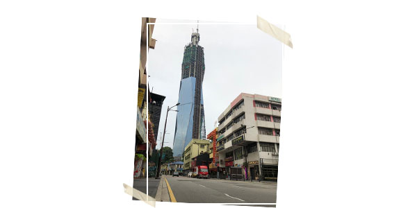 One of the tallest buildings in Kuala Lumpur