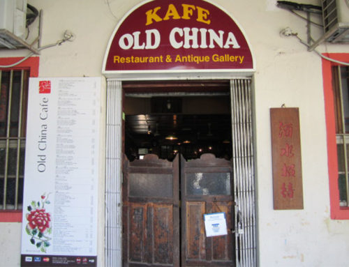 Restaurant review of Old China Cafe in Petaling Street