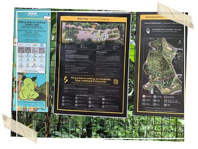 Map of Samen Tugu