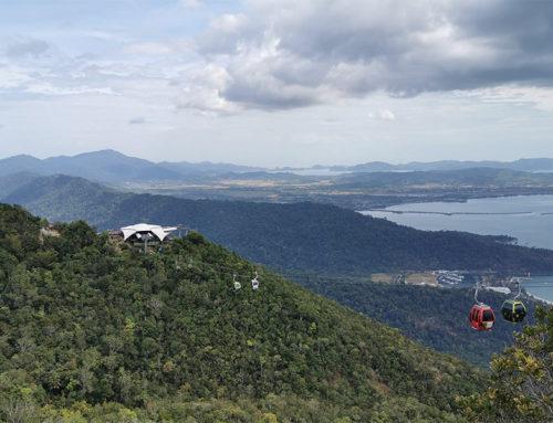 Langkawi SkyCab de steilste kabelbaan ter wereld