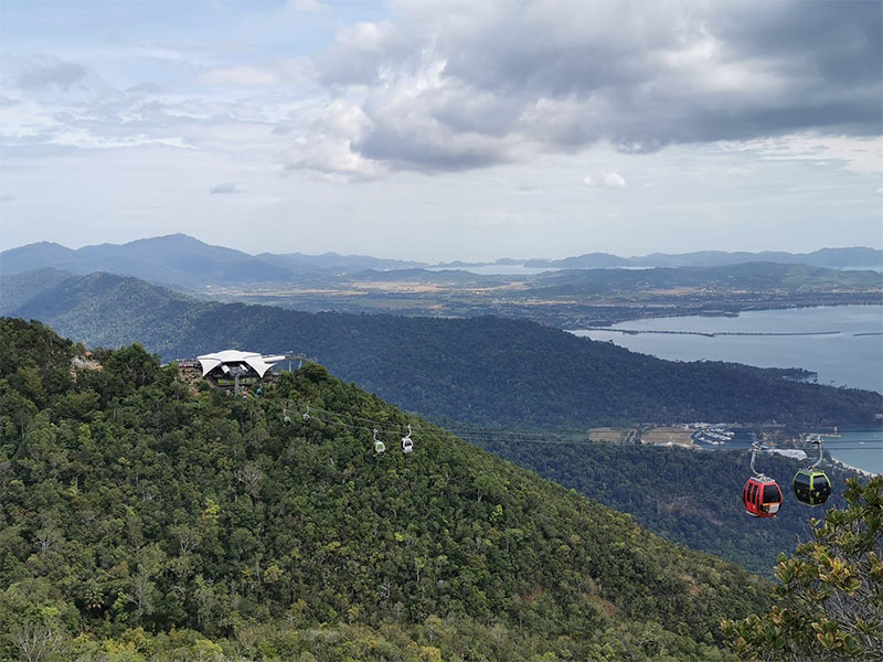 The Skycab in Langkawi