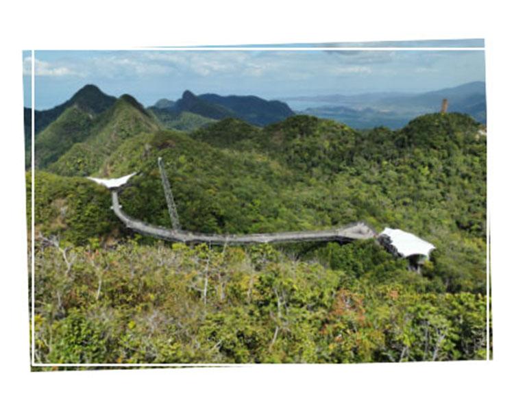 Skycab Langkawi view
