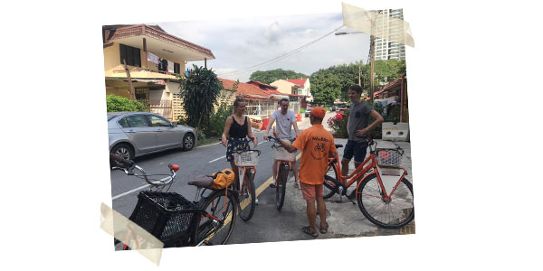 Kampung Baru bike tour from MikeBikes