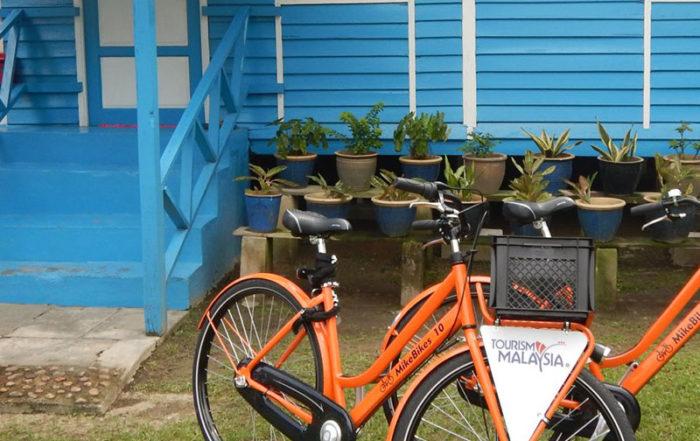 Orange bikes from MikeBikes