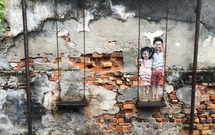 Staycation Penang, street art