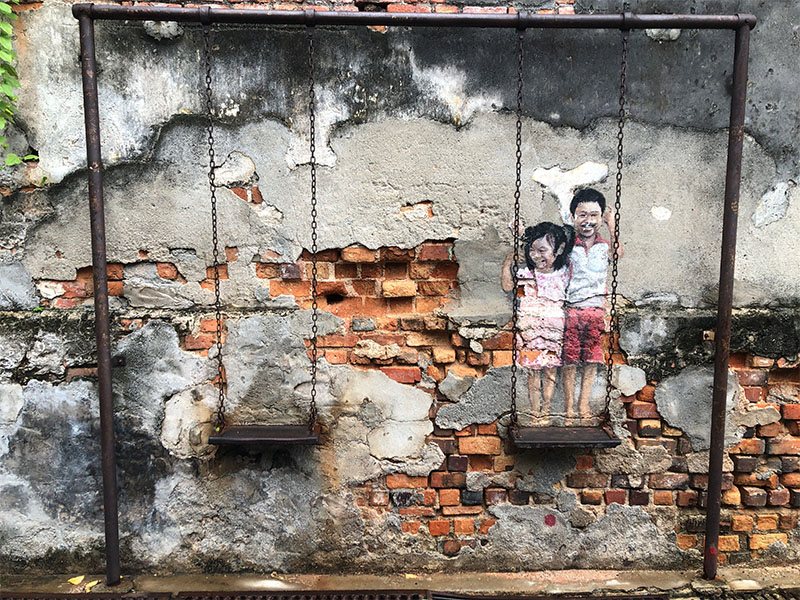 Staycation Penang, street art