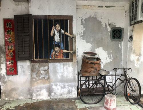 Penang's street art in Georgetown