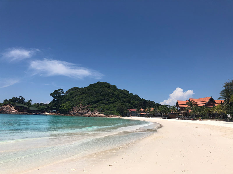 Redang Island plastic pollution