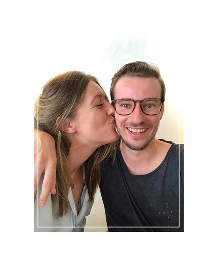 Foto Jeroen en Lisa