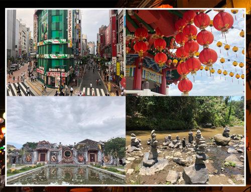 Het digitale Azië fotoboek van het afgelopen anderhalf jaar.