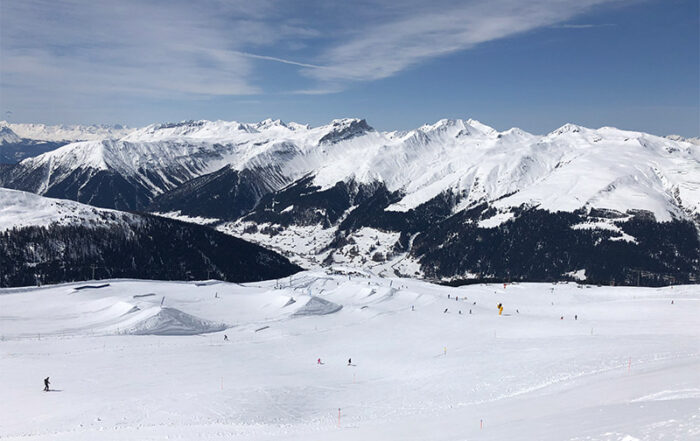 Mountains in Davos