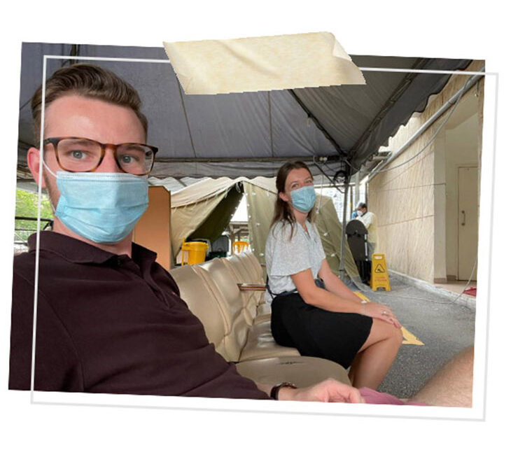 Kuala Lumpur hospital PCR test