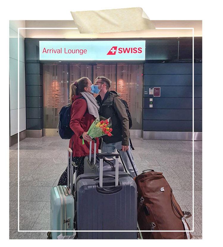 Zurich Airport Arriving