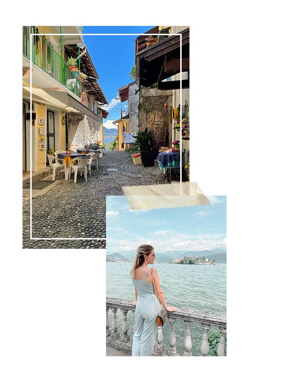 View in Stresa Lago Maggiore