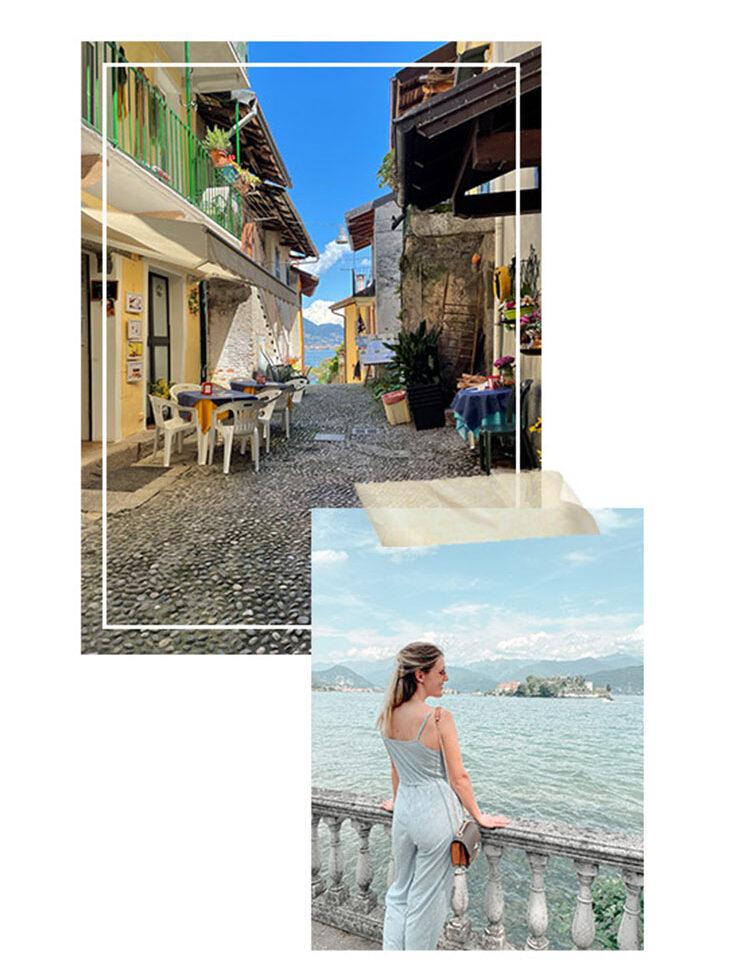 Streets in Stresa